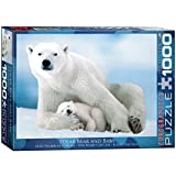 polar bear puzzle - EuroGraphics Polar Bear and Baby Puzzle (1000-Piece)
