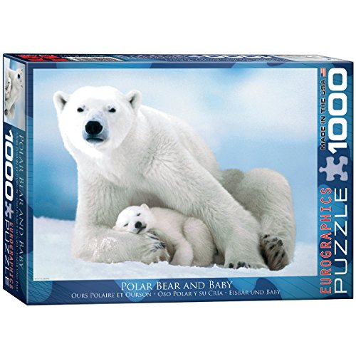 Bear Jigsaw - EuroGraphics Polar Bear and Baby Puzzle (1000-Piece)