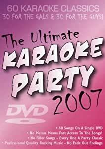 The Ultimate DVD Karaoke Party 2007 - 60 Songs - From Zoom