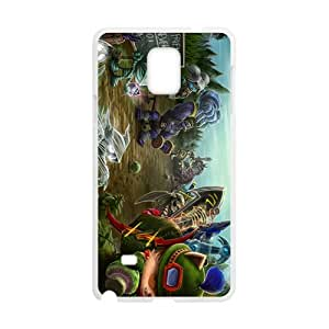 Wonderful anime world Cell Phone Case for Samsung Galaxy Note4 by runtopwell