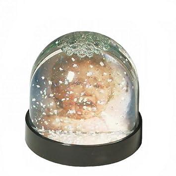 Dorr Photo Christmas Snow Globe With Glitter Photo Amazoncouk