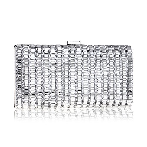 Candy Purse Handbags Shoulder Clutch Bag Chain Lady silver Bag Party Wedding KYS Evening Acrylic Color Ag5q7xw4