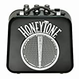 Danelectro Honeytone N-10 Guitar Mini Amp, Black with belt clip