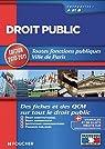 Droit public Catégories A et B. Editions 2010-2011 par Chaperon