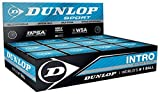 Dunlop Intro Racquet Sports Beginner Players Official Squash Balls Box Of 12