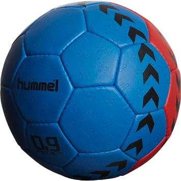 hummel 0,9 Premier - Balón de Balonmano Rot/Blau Talla:1: Amazon ...
