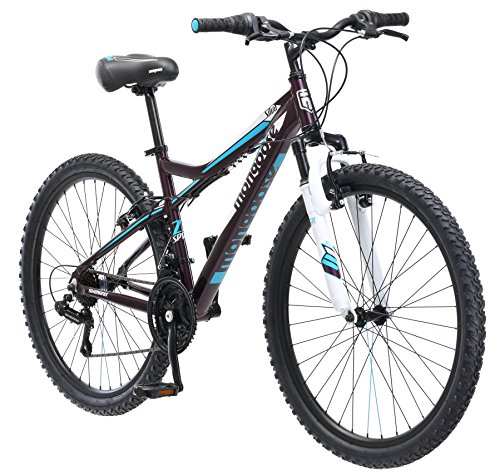 Mongoose Women's Silva Mountain Bicycle 26
