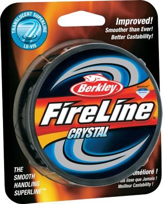 Berkley Fireline Fused 14/6 Spool, Crystal, 300 yd