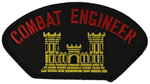 Combat Engineer Biker Patch 5 1/2 inch HONFLB1758
