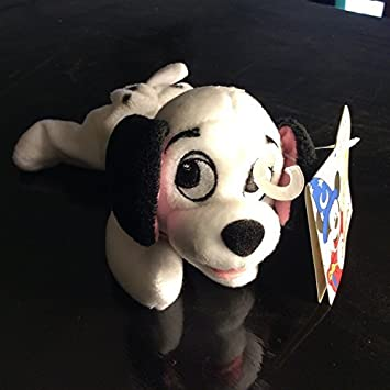 Disneyland Paris 101 Dalmatians 4 Lucky Mini Peluche Lucky Rouge Plush Toy by Disney