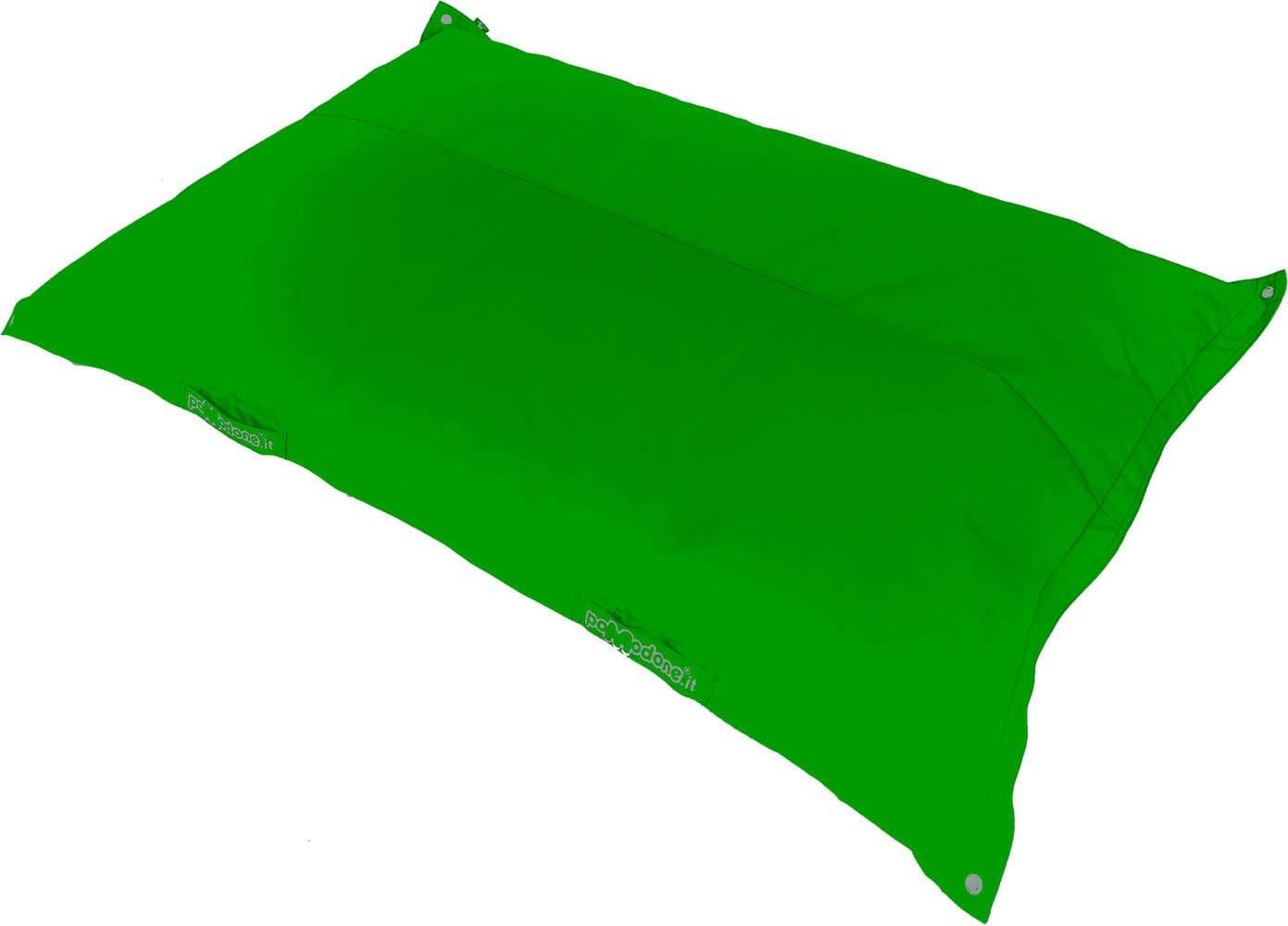 Cuscino Galleggiante 163x111cm in Tessuto Pomodone Galleggiante verde