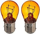 Putco 211157A Super Orange Mini-Halogen Bulb, Pair