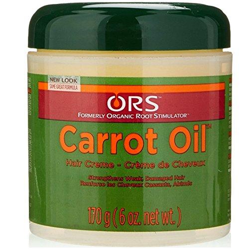 (ORS Carrot Oil Hair Creme 6 oz)