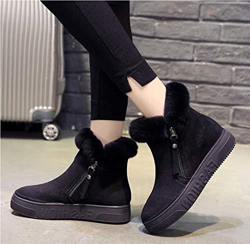FMWLST Stiefel Frauen Stiefel Winter Winter Warme Schnee Stiefel Stiefel Stiefel Dicke Stiefeletten Stiefel  b96f0c