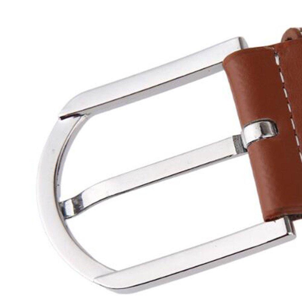 Tela De Lona Para Hombre Cinturón Militar Transpirable Cinturón Tejido  Unisex Cinturón Elástico Hebilla De Pasador Cinturón Elástico Correa  Trenzada De Lona ... 3c3facdbf086