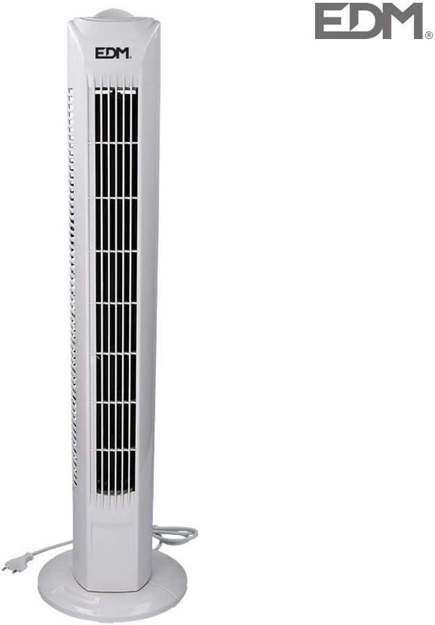 EDM GRUPO Ventilador, Blanco, 45w: Amazon.es: Hogar