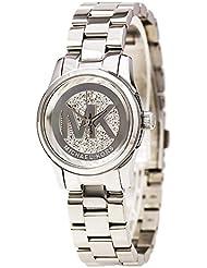 Michael Kors Womens MK3303 Silver One Size