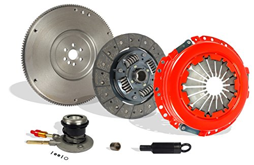 Chevrolet S10 Clutch Kit (Clutch Kit Flywheel And Slave Kit Stage 1 For Chevrolet S10 Gmc Sonoma Hombre)