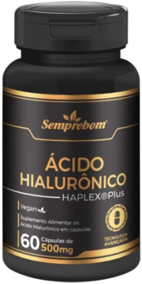 ÁCIDO HIALURÔNICO 500 MG 60 CAPSULAS - SEMPREBOM por Semprebom