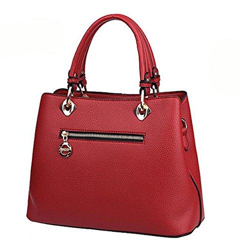 En Bag Mode Cuir Messenger Les Main Europe Unis États à Red2 Sac épaule Femmes Et AUqUz