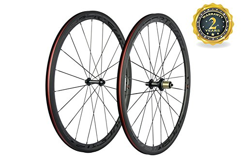 - Superteam 23mm Basalt Braking Surface Wheel 38mm Carbon Road 700c Clincher Wheelset