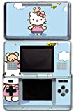 Hello Kitty Blue Sky Birds Teddy Bear Video Game Vinyl Decal Skin Sticker Cover for Original Nintendo DS System