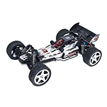 ALEKO® 66202 Electric Powered Brushless Motor High Speed Off-Road Buggy, White 1/12 Scale