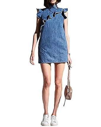 71ecfeececf McGuire Sorbonne Mini Dress in Josephine (Extra Small) at Amazon ...