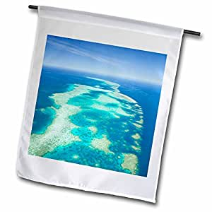 Danita Delimont - Great Barrier Reef - Australia, Cairns, Great Barrier Reef, Elford Reef-AU01 WBI0306 - Walter Bibikow - 12 x 18 inch Garden Flag (fl_72479_1)