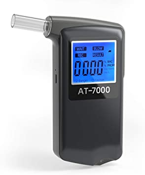 NUOVA Digitale LCD Analizzatore Tester Alcol Respiro Rivelatore Test Etilometro