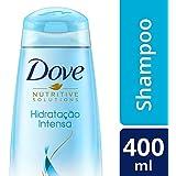 Shampoo Dove Hidratação Intensa com infusão de oxigênio 400 ML, Dove, Branco