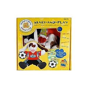 Colorbok Build, A, Bear Kit, Playful Puppy
