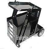 Metalworking Welding Welder Cart W/4 Draws; Universal Mig Tig Arc Welding Cart