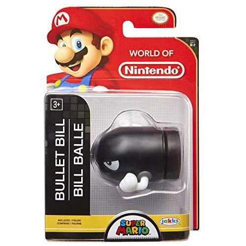 "World of Nintendo Super Mario 2.5"" Bullet Bill Mini Figure"