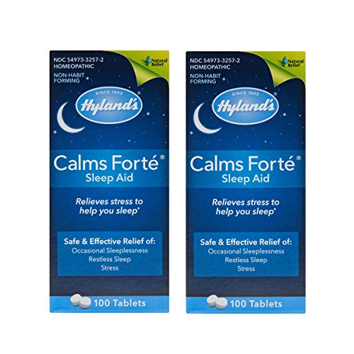 - Hylands Calms Forte 100's - 1 Ct, 2 Pack by Hylands