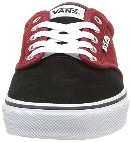 Vans Atwood, Zapatillas para Hombre Rojo (Varsity Red/black)