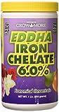 Grow More 6546 EDDHA Iron Chelate, 1-Pound