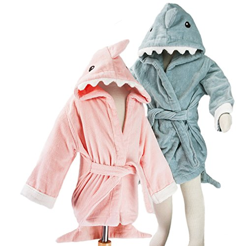 hoodiekinz-baby-shark-hooded-bath-robe-thick-100-plush-cotton-terry-cloth-3-sizes-for-infants-toddle