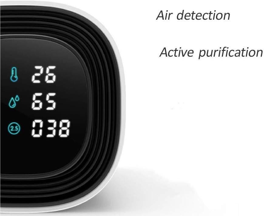QWERDF Purificador De Aire con Ionizador De Automóvil, Control ...