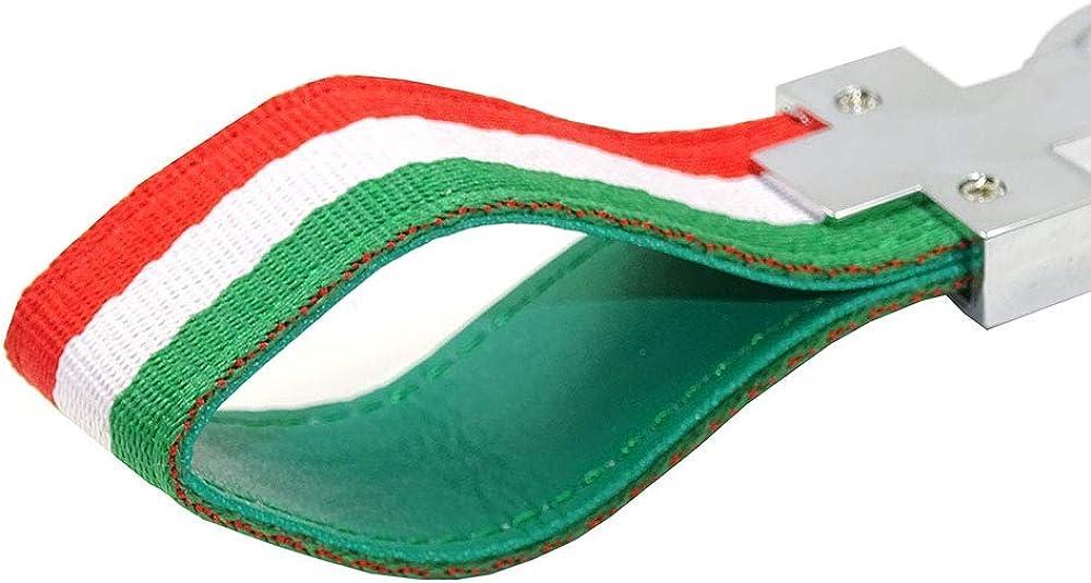 Portachiavi con bandiera italiana PSL edizione limitata per auto Alfa Romeo