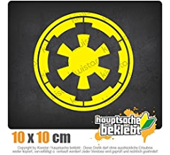 Kiwistar Sith Empire 10 x 11,5 cm JDM Decal Sticker Aufkleber Racing Die Cut