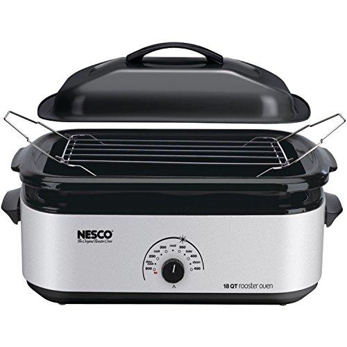 Pot Lid Circle - Nesco 4818-47 18 qt. Roaster Oven - Silver finish