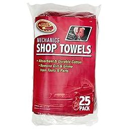 Detailer\'s Choice 3-542 Mechanics Shop Towels - 25-Pack