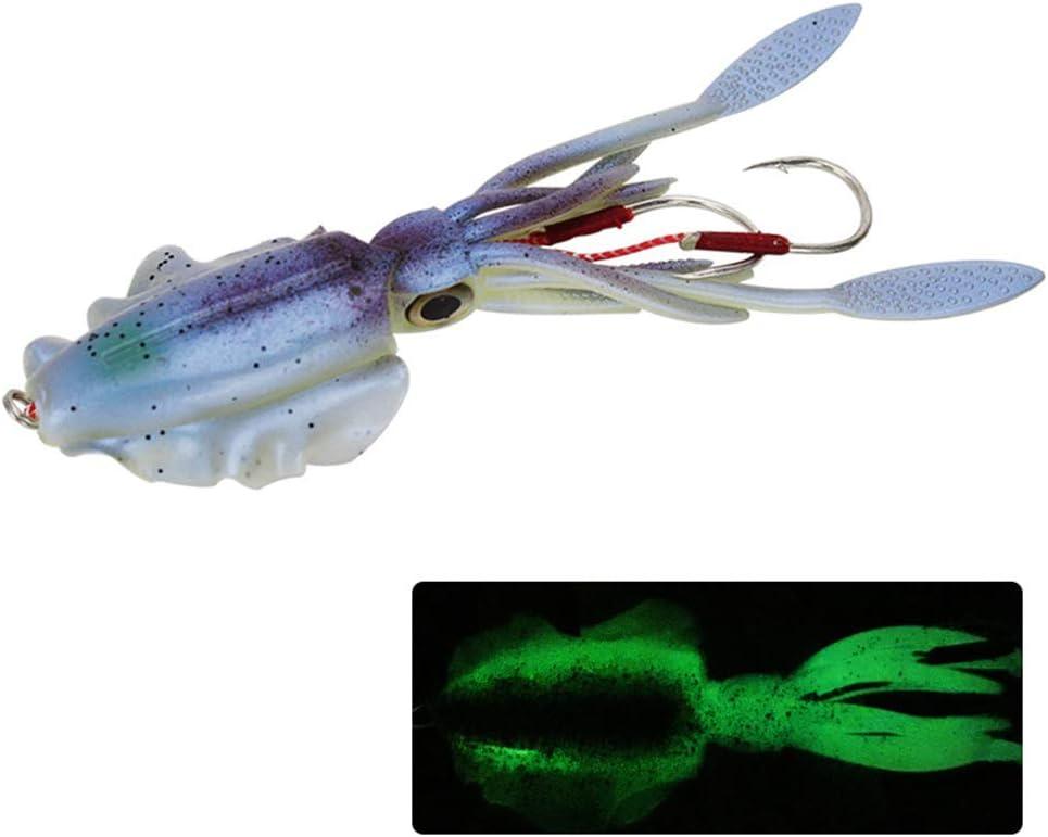Leaded Fishing Bait Soft Squid Fishing Lures Simulation Luminous Bait for sea fishing Pandao Fishing Bait