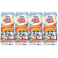NESTLE COFFEE-MATE Coffee Creamer, Pumpkin Spice, liquid creamer singles, Pack of 200