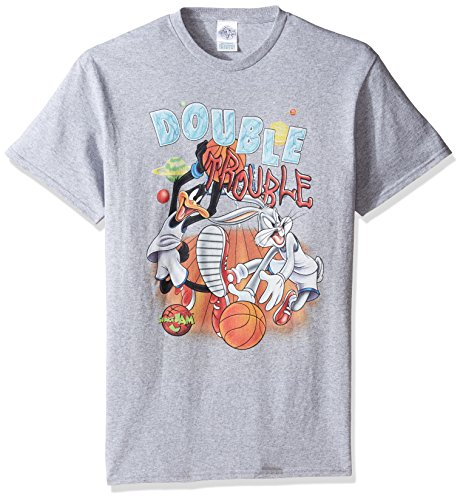 warner-brothers-mens-double-trouble-space-jam-t-shirt-heather-grey-medium