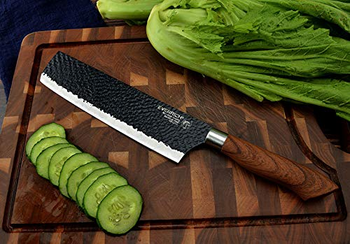 6 Pieces Kitchen Set, Non-stick Professional Chef's Knives by AUIIKIY (Image #6)