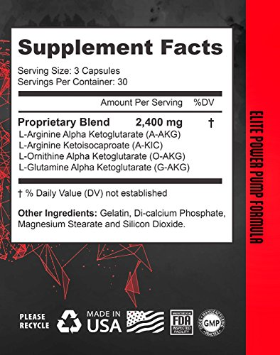 Nitric Oxide Supplement | by Deus Vita | NO Booster Pills | Increase Blood Flow | Bigger Pumps High Quality | Breakthrough Formula L Arginine Blend | Top Results (Bottle, 90 Count) | Best Value