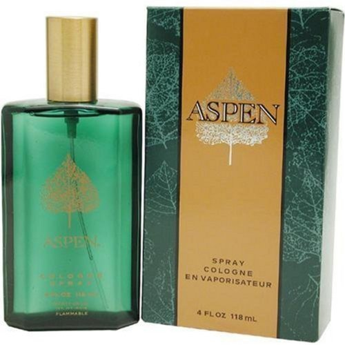 Aspen for Men By Coty Cologne 4.0 Oz New in Box Great Gift Fast Shipping
