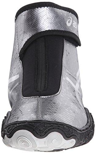 Men's Omniflex Black Shoe ASICS V2 Wrestling Gunmetal 0 Attack Silver 7TdZ6xq1